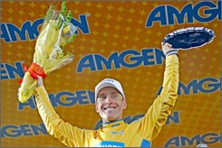 Levi Leipheimer led from start to finish at the Tour of California.