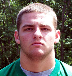 Mike Golic Jr. is a 4.0 student at West Hartford (Conn.) Northwest Catholic. At 6-5, 260, he benches 315 pounds.