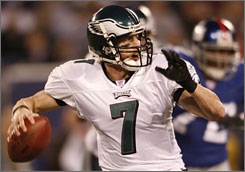 Jeff Garcia led Philadelphia to the NFC East crown in 2006 after replacing the injured Donovan McNabb. Now, he has a shot to put a full season together in Tampa.