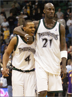 With no more KG, Foye needs to start taking over as this team's leader on the court...