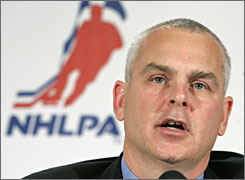 When Ted Saskin replaced Bob Goodenow as NHLPA executive director after the 2004-05 lockout, a group of players argued proper procedure was not followed.