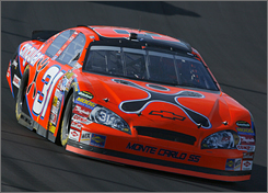 AT&T is suing NASCAR to put its logo on Jeff Burton's No. 31 car. His current sponsor, Cingular, was absorbed by AT&T, but NASCAR wants to protect Nextel's place as the title sponsor of its premier series.