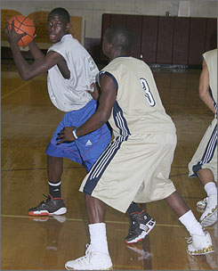 Jrue Holiday, 6-3 and 200 pounds from North Hollywood (Calif.) Campbell Hall, is rated the nation's top shooting guard for the class of 2008.