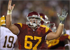Southern California center Ryan Kalil is the top center available in an NFL draft class. The former Trojan is a potential first-round pick.