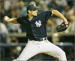 Pitcher Carl Pavano will have the weight of the Yankees universe on his shoulders at the start of the 2007 season.