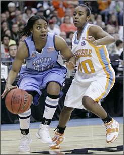 Shannon Bobbitt and Tennessee stonewalled Ivory Latta and North Carolina with a late 20-2 run en route to their 12th appearance in an NCAA title game.