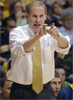John Beilein will take on the challenge of leading Michigan to the NCAA tournament for the first time in 10 years.