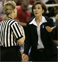 Gail Goestenkors is leaving for Texas after 15 seasons as coach of Duke.