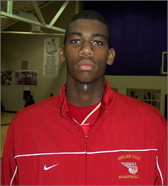 Greg Monroe, from  Helen Cox High School in Harvey, La., is rated as the nation's top power forward in the class of 2008.