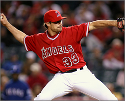 Middle man Justin Speier signed at $18 million deal with the Angels this offseason. So far this year, he's given up just one run and struck out four in five innings of work.