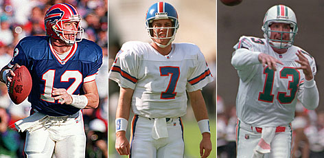 Six quarterbacks taken in the first round. Three of them in the Hall of Fame. That might be enough to declare the talent-rich draft of 1983 the greatest ever, but there's more. Four of the 28 first-rounders are in the Hall of Fame. A fifth gets the honor this summer. A sixth probably will be enshrined when he is eligible. So can we affirmatively say that the class of 1983 was the greatest ever?