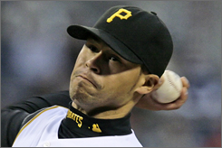 After finishing 14-8 last season,  Pittsburgh's Ian Snell is 2-1 with a 1.59 ERA in 2007.