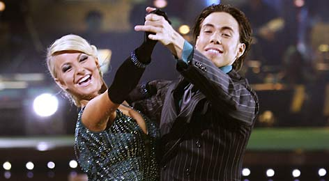 Speedskater Apolo Ohno, tangoing with Julianne Hough, is one of three athletes to compete on this season's Dancing with the Stars. Many more are flocking to other reality TV shows.