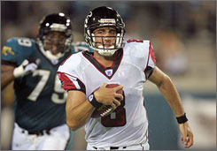 The Texans traded multiple draft picks to Atlanta for former backup QB Matt Schaub. They're counting on a player with just two career starts to be under center as the franchise quarterback.