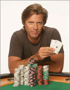 Vince Van Patten knows when to hold 'em and knows when to fold 'em.