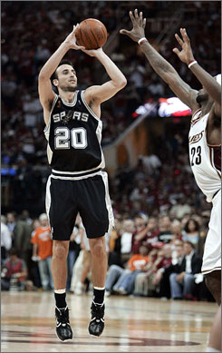 It's hard to believe that  Manu Ginobili was taken with the second-to-last pick in the 1999 draft. Since that time he has helped the Spurs to three NBA championships.