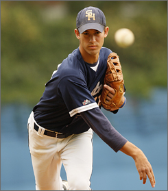 Seton Hall Prep pitcher Rick Porcello is USA TODAY's All-USA Player of the Year after going 10-0 with a 1.18 ERA and 112 strikeouts on the season.