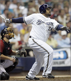 Prince Fielder has earned a start in this year's All-Star Game after moving to the head of the slugging charts in his second full season in Milwaukee.