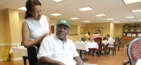 "Hall of Fame safety Willie Wood has been in hospitals and assisted-living facilities since a November 2006 fall. After surgeries on his neck, shoulder and lower back, plus hip- and knee-replacements, Wood is wheelchair-bound. The highlight of his day is waking in the morning, but his worst moment soon follows, he says, ""When I realize I'll be sitting around here the rest of the day."""