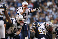 Tom Brady became the first quarterback to win three Super Bowls before the age of 28.