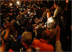 The usual mass of media attention on Barry Bonds has swelled even more with the All-Star Game taking place in his home park in San Francisco.