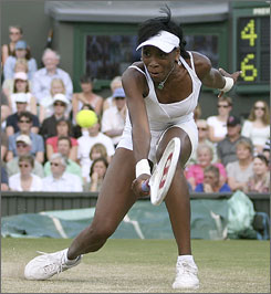 Wimbledon champion Venus Williams will lead the U.S. team in its Fed Cup semifinal against Russia starting Saturday.