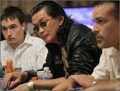 Scotty Nguyen was the last big-name pro in the World Series of Poker's Main Event. The Vietnam native won the championship in 1998.