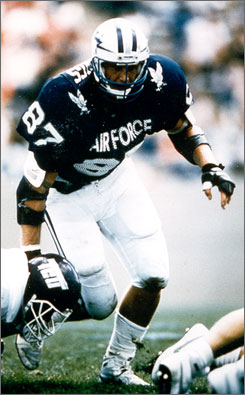 Defensive tackle Chad Hennings became just the second Air Force football player to be elected into the College Football Hall of Fame.