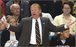 Prosser compiled a 291-146 record in 14 seasons while coaching at Wake Forest, Xavier and Loyola of Maryland.
