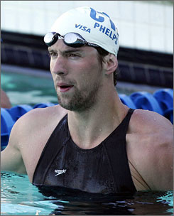 Michael Phelps will swim 17 events in five days at the U.S. championships in Indianapolis this week. Phelps will be taking part in some races not considered his strong suits.