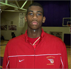 Greg Monroe, a 6-10 power forward from Harvey (La.) Helen Cox, averaged 19 points, 12 rebounds and 7 blocks per game as a junior.