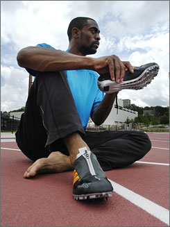 Tyson Gay ran this year's fastest times in the 100 and 200 meters but has yet to win a medal at a world championships or Olympics. The speedster has a chance to change that when the world championships begin this weekend in Osaka, Japan.