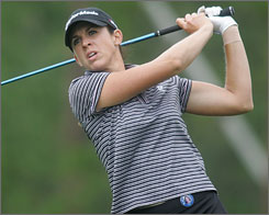 Nicole Castrale, in her fourth year on the LPGA tour, is one of four players making their first appearance on the U.S. Solheim Cup team.