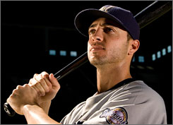 Despite starting the season in the minor leagues, Ryan Braun has become one of the Brewers top hitters  entering the week with a .334 average, 25 homers and a majors-best .648 slugging percentage.