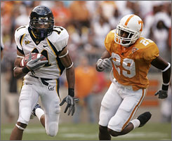 Robert Jordan, left, and the California Golden Bears have a score to settle with Tennessee in the week's top matchup.