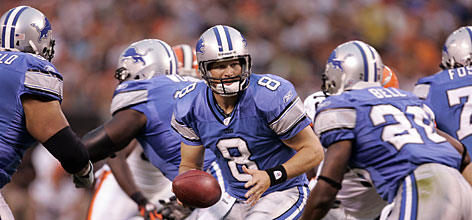 Detroit Lions quarterback Jon Kitna has predicted the team will recover from a 3-13 campaign to its first 10-win season since 1995. The signal caller who ranked fourth in passing yards in 2006 has No. 2 overall pick Calvin Johnson and possibly the league's best receiving corps to with.