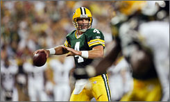 Brett Favre could become the all-time touchdown king this season.