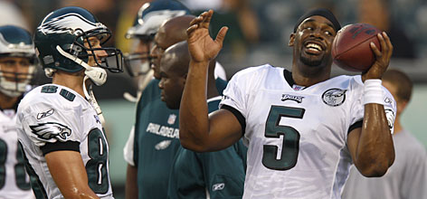 """Philadelphia Eagles quarterback Donovan McNabb, who's missed 13 games to injury in the past two seasons, is facing a new threat to his job from rookie Kevin Kolb. """"Every year is Super Bowl or bust for me,"""" McNabb said. """"That's been my mind-set from my second year because nobody remembers who finishes second and nobody cares."""""""