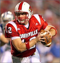 Senior quarterback Brian Brohm returned to Louisville and has led the Cardinals to a 2-0 start.