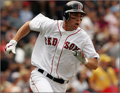 Rookie Jacoby Ellsbury has done so well offensively that the Red Sox have barely missed Manny Ramirez.