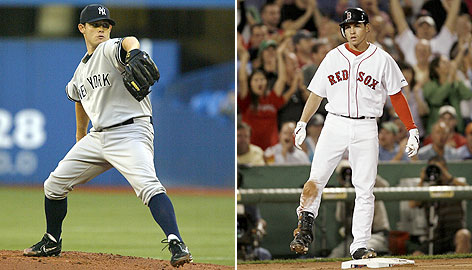 The Yankees are counting on pitcher Ian Kennedy, while the Red Sox are using Jacoby Ellsbury during pennant-race games.
