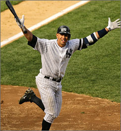 Alex Rodriguez had many fantasy owners celebrating after he led the majors in three of the standard five offensive fantasy categories (homers, RBI and runs). But there's one budding young star who could replace him as fantasy's top performer in 2008.