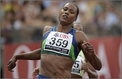 Marion Jones won five Olympic medals and four more from the world championships in 1999-2001.