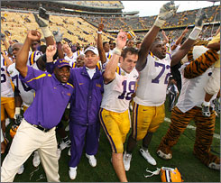 The last time the BCS title game was in New Orleans, LSU won the national championship. The No. 2 Tigers are looking to recreate the success of 2003 this season.