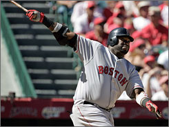 David Ortiz provbed how important he is to the Red Sox by batting .714 against the Angels in the AL Division Series, including this Game 3 homer.