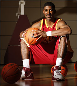 "Southern Cal freshman O.J. Mayo knew he'd make it big time, telling his mother that he would play in the NBA when he was just eight years old.  ""He told me at 8 years old he didn't need a backup plan,"" his mother said."
