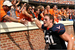Virginia's Chris Long has established his own legacy as a leader for the Cavaliers. The star defensive end has helped guide UVa to a 6-1 record, the team's best start since the 2004 season.