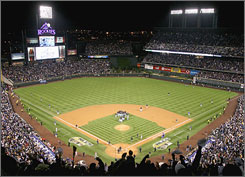 Coors Field has been a graveyard for many pitchers since it opened in 1995. The ballpark at the corner of Blake Street and 20th will host its first World Series game this weekend.