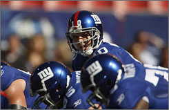 "Eli Manning has led the Giants to five straight wins. ""Eli's very relaxed having Chris coach him,"" NFL.com analyst Pat Kirwan says, ""because Chris has been around Tom Coughlin a long time and he's a great insulator for Eli."""
