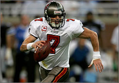 Jeff Garcia, in his first year as Tampa Bay's quarterback, has the Buccaneers at 4-3 and one-half game behind Carolina for first place in the NFC South.